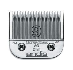 DOG GROOMING - CLIPPERS/PARTS - ULTRAEDGE BLADE - SIZE 9 - ANDIS COMPANY - UPC: 40102641206 - DEPT: DOG PRODUCTS
