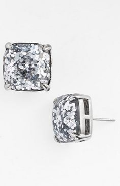 Sparkle studs by kate spade new york http://rstyle.me/n/s8fpsn2bn