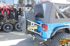 Poison Spyder JK Body Mounted Tire Carrier