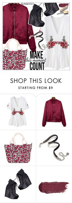 """Gamiss"" by teoecar ❤ liked on Polyvore featuring Sweet Romance and Burberry"
