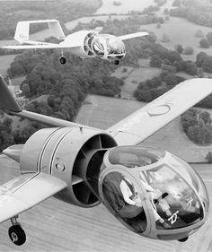 Edgley EA-7 Optica... These things look like giant mechanical bees.