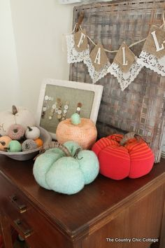 Sweater pumpkins tutorial