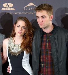 Kristen Stewart & Robert Pattinson at the Breaking Dawn 2 Press Conference In Madrid - November 2012