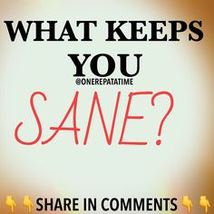 What keeps you sane? There is no right or wrong answer so let's have at it!!! - - Making fitness a part of my long term Recovery is what does the trick for me. Click link in our bio to redirect to OneRepAtaTime.net to find out how you can too! - - #sober #fitness #sobriety #recovery #ODAAT  #recoveryispossible #health #healthy #lifestyle #sobermovement #Partysober #soberissexy #sobernation #100percentsober #drugfree  #cleanandsober #fit #fitfam  #fitnessmotivation #motivation  #wedorecover…