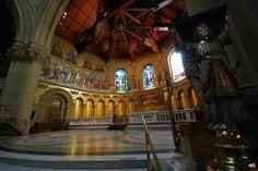 The interior of the Stanford Memorial Church (MemChu)  Stanford, CA  (Seen)