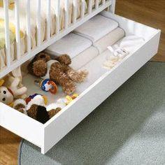 Cajónes Para Cuna Micuna.  El mejor accesorio para la cuna de tu bebé donde podrás almacenar todo lo indispensable sin restarle espacio a la habitación.