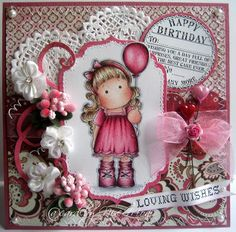 Nixe07 - Moni´s creative place: Loving Wishes ... My new favourite Tilda in pink