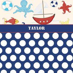 Rideau de douche original nautique.  Découvrez 21 rideaux de douches originaux >> http://www.homelisty.com/21-rideaux-de-douches-pour-votre-salle-de-bains-chic-classique-original/