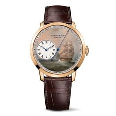 ARNOLD & SON - EAST INDIA COMPANY SET - EAST INDIAMEN IN THE CHINA SEAS  For more details follow this link: http://www.luxurysouq.com/luxurysouq/watches/Arnold-and-Son?product_id=1236
