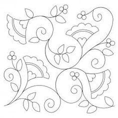 Fandangle Quilt Design