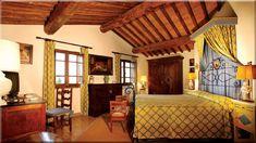 rusztikus lakás, hálószoba (Lakberendezés 10)