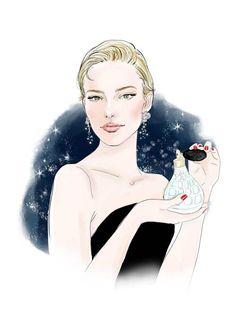 Fashion Illustrations:PERFUME