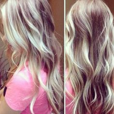 If I ever dye my hair blonde again, this would be what I'd want! Gorgeous!