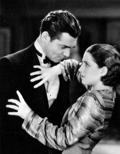 Clark Gable and Norma Shearer in A Free Soul