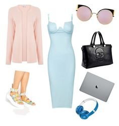 """""""😽"""" by katrinastarring on Polyvore featuring Dr. Martens, Fendi and Beats by Dr. Dre"""
