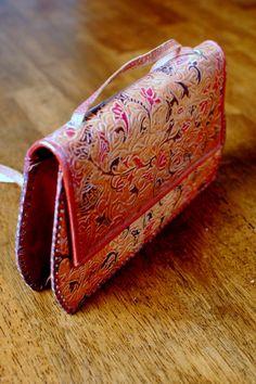 Santiniketan leather work.