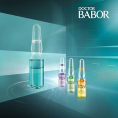 DOCTOR BABOR Bi-Phase Ampoules. The first ever bi-phase fluid to hit the market. #skincare #BABOR