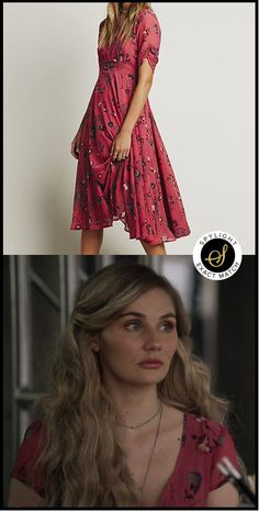 Scarlett O'Connor's Free People Bonnie Dress #Nashville #TVFashion