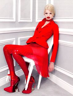 """Aries - """"Dior Couture"""" book Model: Daphne Groeneveld Ph: Patrick Demarchelier - http://www.simplysunsigns.com/"""
