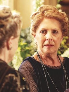 """"""" Penelope Wilton as """"Isobel Crawley"""" from s5 