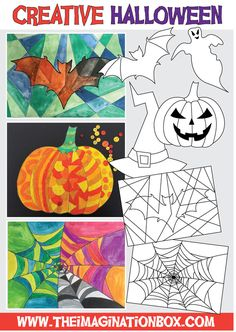 40 page bumper halloween art activity pack for kids
