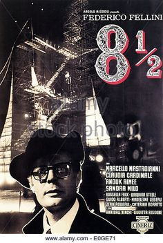 8 1/2 Original Italian Movie Poster