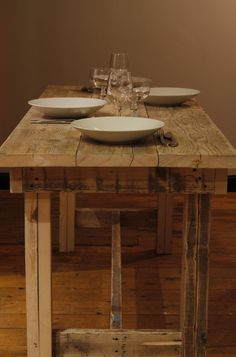 beautiful reclaimed wood furniture. Another project I feel I might be able to tackle.