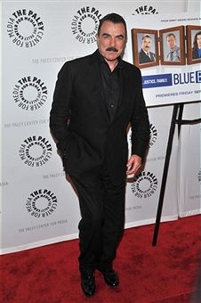 Sept. 22, 2010 Actor Tom Selleck attends the 'Blue Bloods' Screening at The Paley Center for Media in New York City.