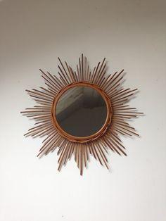 Miroir forme oeil vintage nogu id es d co pinterest for Miroir rotin oeil