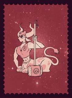 Taurus, an art print by Clara Horst Moon Astrology, Vedic Astrology, Astrology Signs, Zodiac Signs, Zodiac Art, 12 Zodiac, Zodiac Horoscope, Sun Sign, Selling Art
