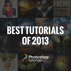 The Best Photoshop Tutorials of 2013