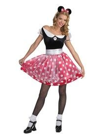 Minnie Mouse Adult Deluxe Costume