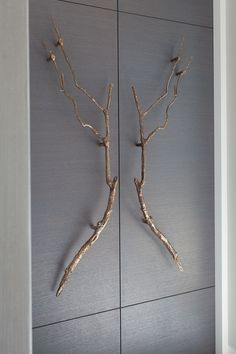 wardrobe with leather handle - Google Search