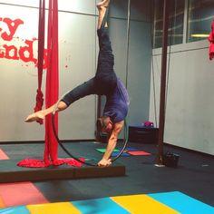 Working on some more things today!! #circus #cirque #aerial #aerialhoop #aeriallyra #cerceau #circusinspiration #circusartistcirque Austin, TX #circusaroundtheworld #circuseverydamnday #training #skycandyaustin #tricks #contortion #boysdoingsplits