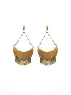 Brinco Mond - Flow Acessórios Drop Earrings, Jewelry, Fashion, Moon, Moda, Jewlery, Bijoux, Fashion Styles, Schmuck