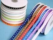 Polka Dot Ribbon 25 yards - Ebay $5.68