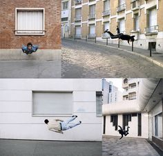 Photography of falling