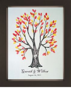 What if i had a fall wedding... then i could have all kinds of colors... wedding gift