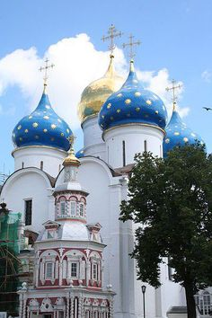 Beautiful church in Russia