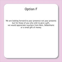 Wedding Gift Card Registry Wording : Gift registry, Wedding registries and Wedding on Pinterest