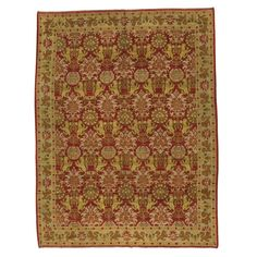 Antique Spanish Cuenca Rug