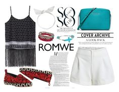 """Romwe White Shorts"" by marinaivin17 ❤ liked on Polyvore featuring Chicnova Fashion, Proenza Schouler, MICHAEL Michael Kors, J.Crew, M&F Western and Platadepalo"