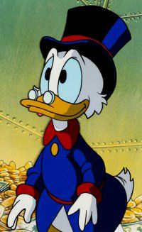 Dagobert Duck, Uncle Scrooge, He Makes Me Smile, Duck Tales, Scrooge Mcduck, Cartoon Characters, Fictional Characters, Smiles And Laughs, Mickey And Friends