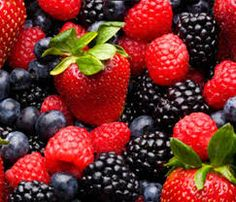 Berries contribute to weight loss.. ,