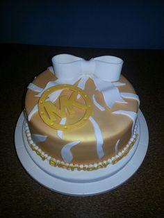 Inspired Michael Kors Cake
