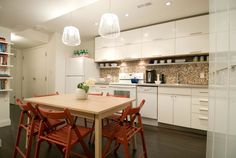 Renovation expert Scott McGillivray looks at the different levels of DIY skills required to update a kitchen. Updated Kitchen, Diy Kitchen, Kitchen Ideas, Scott Mcgillivray, Income Property, Orange Kitchen, In Law Suite, Hgtv, Home Remodeling