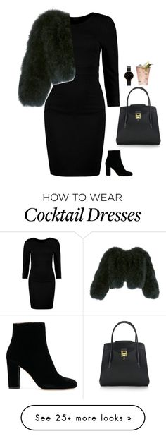 """#6761"" by azaliyan on Polyvore featuring Boohoo, Michael Kors and Adrienne Landau"