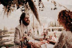 Table folk et sauvage - Elopement - nuage de fleurs - pampas Decoration Table, Cloud, Flowers, Weddings