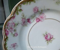 Antique Haviland Limoges Plate Rare by 4HollyLaneAntiques on Etsy, $52.00