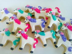 Pony Mini Sugar Cookies- 2 Dozen These cookies are made with my unbelievably popular shortbread sugar cookie dough decorated with Madagascar Vanilla